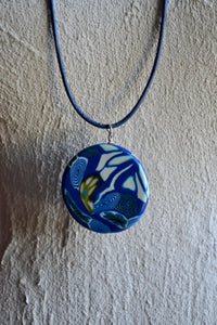 "Kette "" Blue World """