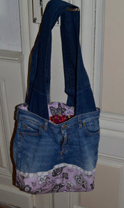 "Jeans-Tasche "" Grey Bird """