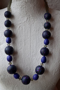 "Kette "" Dark Purple """