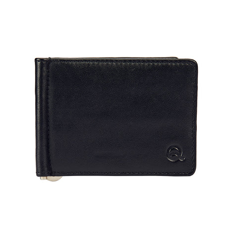 Black Money Clipper - Black Wallet, Money Clipper, EVOQ, EVOQ - evoqstyle.com