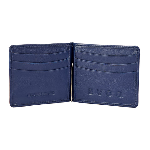 Blue Money Clipper - Blue Wallet, Money Clipper, EVOQ, EVOQ - evoqstyle.com