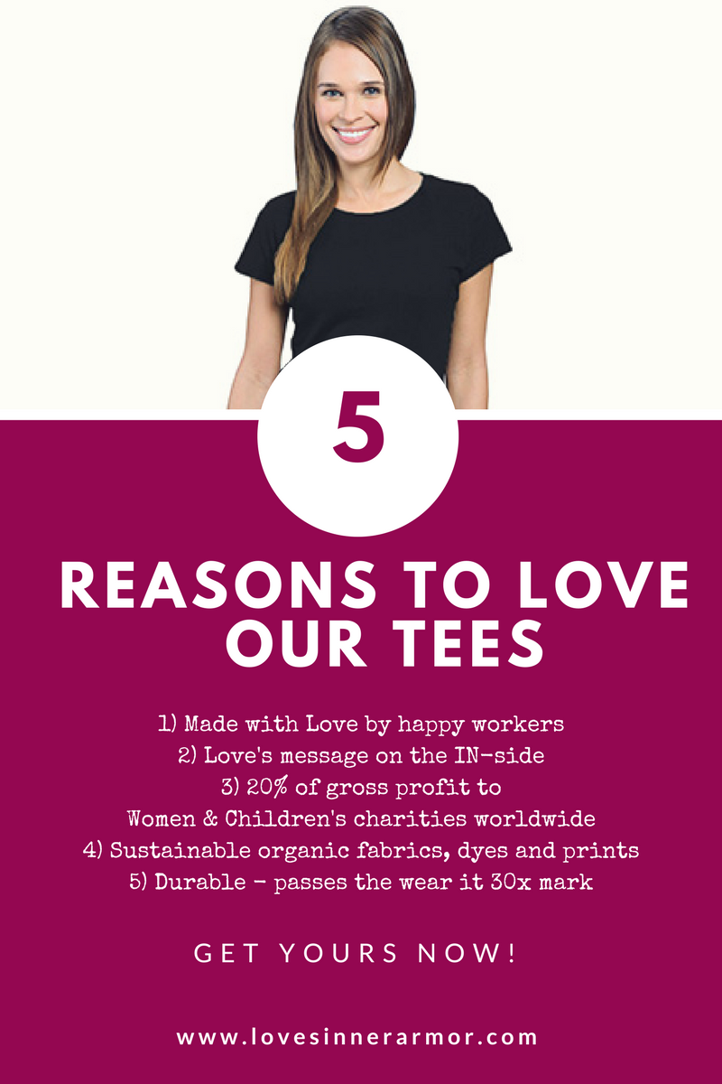 5 Reasons to Love our Tees!