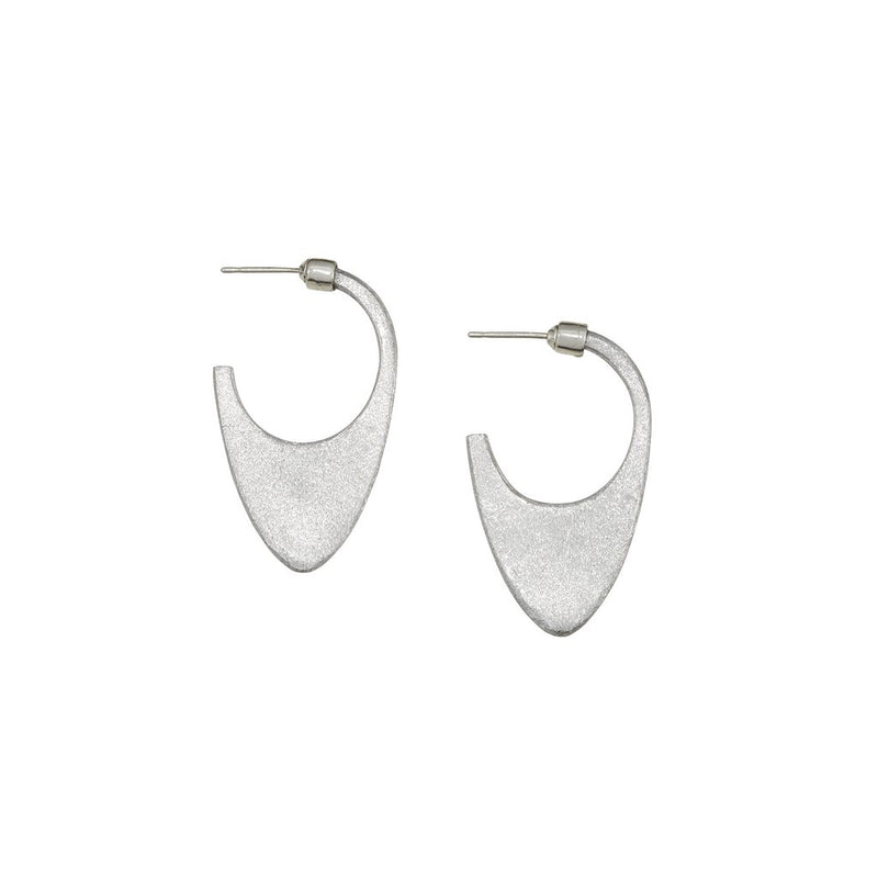 Laos Dome Earring - Stone Polished