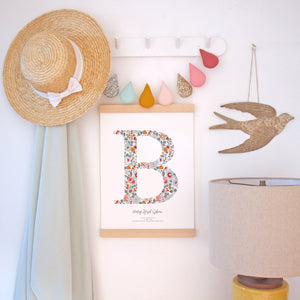Nursery Monogram & Typographic Prints