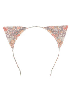 Meri Meri Liberty print cat ear headband