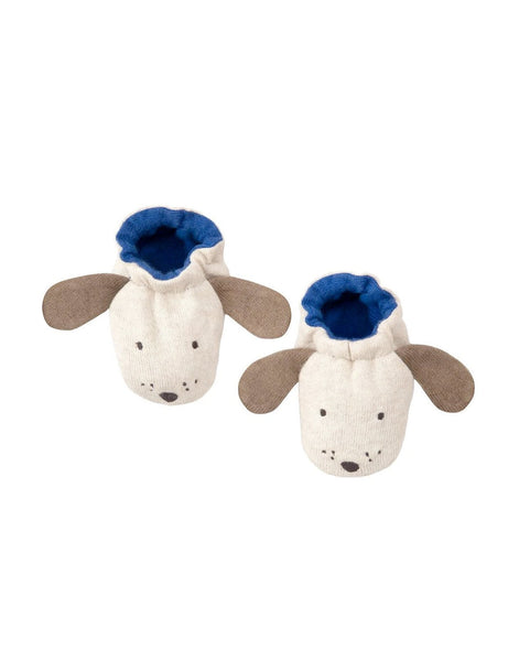 Dog baby booties gift by Meri Meri
