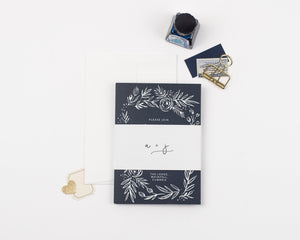 Fern Wedding Invitation Sample Collection