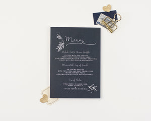Fern Collection Menu