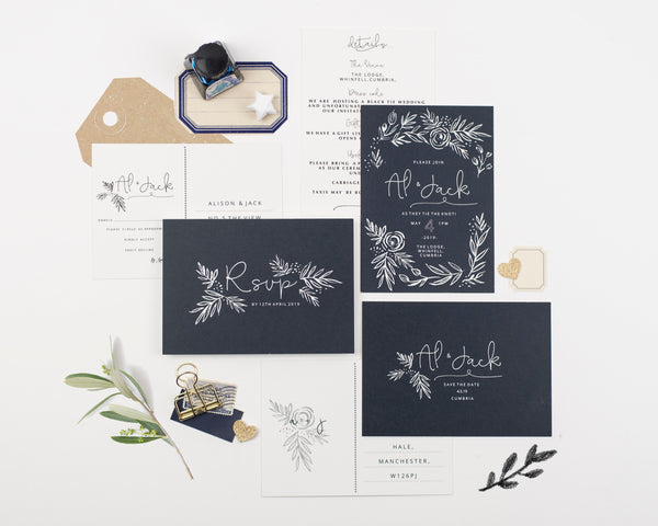 Fern Save the Date Card