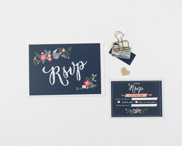 Bloom Wedding Invitation Sample Collection