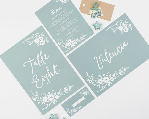 Boho Collection Place Card