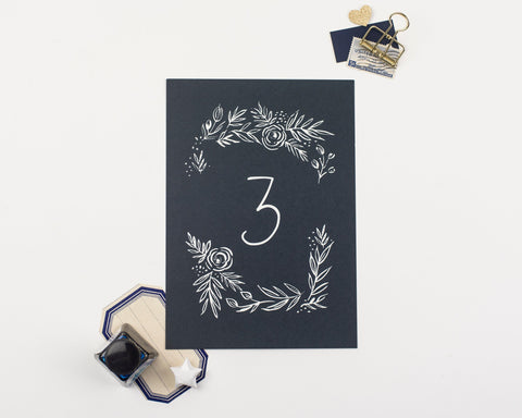 Fern Collection Table Numbers