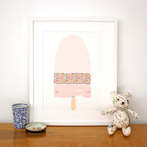 Liberty Lolly Nursery Print