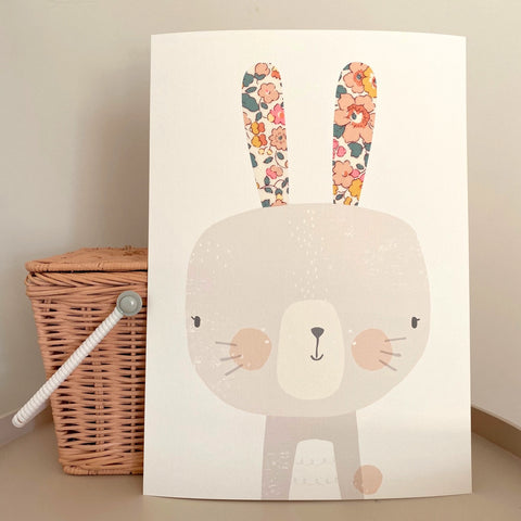 Limited Edition Liberty Betsy 'Barbapapa' - Rabbit