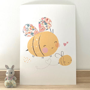 Limited Edition Liberty Betsy 'Barbapapa' - Bumble Bee