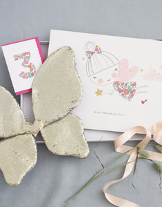 Liberty gift box by The Charming Press, perfect present for little girls.