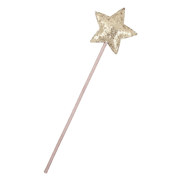 Glitter fairy wand included in gift box by The Charming Press.