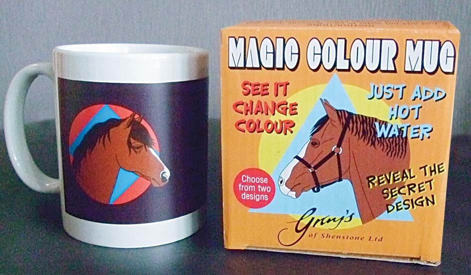 Horse & Pony Breeds Colour Change Mug