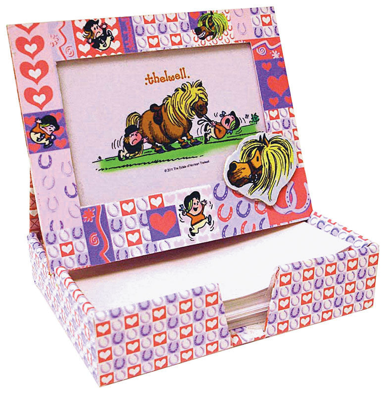 Thelwell Photoframe & Notes Box