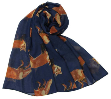 Scarf Foxes Design