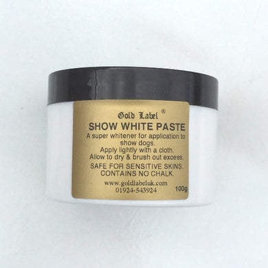 Show White Paste for dogs 100gm