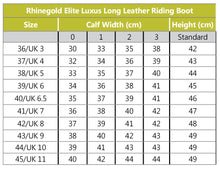 Rhinegold Elite Seville Leather Riding Boot-Free Socks