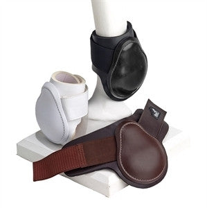 Masta Leather Look Fetlock Boots