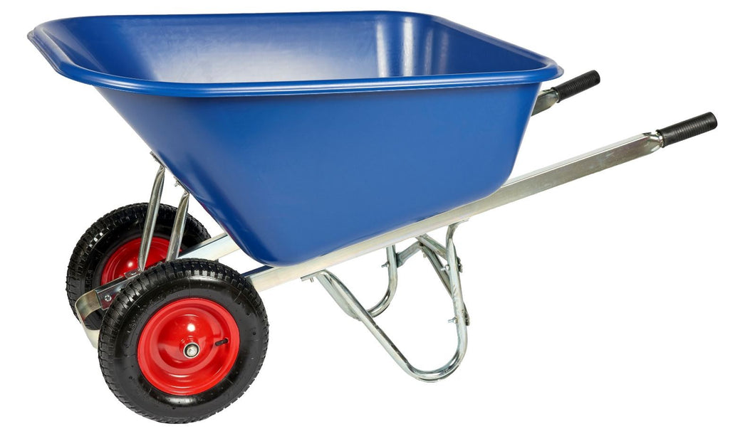 Twin Wheel Wheelbarrow - 200 Litre