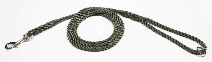 KJK Rope Dog Lead Rope With Clip And Ring