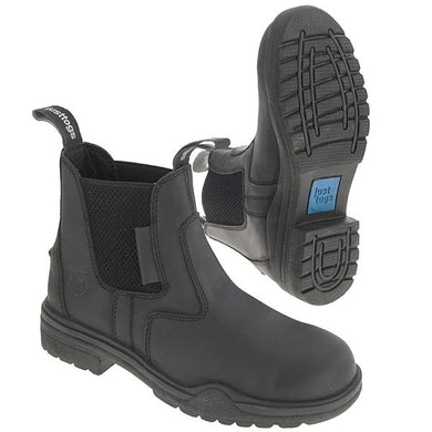 Just Togs Hampton Safety Boot Black