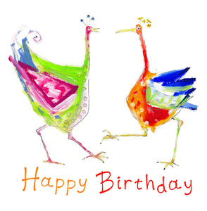 birthday dance - card