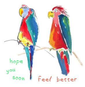 feel better - card