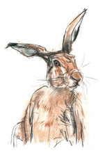 Load image into Gallery viewer, hare - card & print