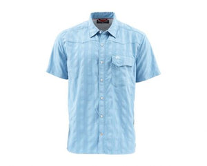Big Sky Short Sleeve Shirt - Faded Denim