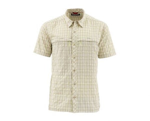 Stone Cold SS Shirt - Khaki Plaid