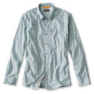 South Fork Stretch Long Sleeve - Azure