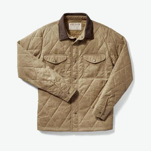 Hyder Quilted Jac-Shirt- Tan