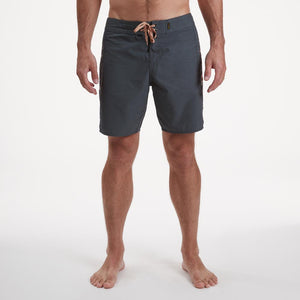 Crosscut Deluxe Boardshort: Dark Slate Blue