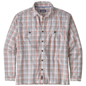 L/S Island Hopper Shirt II: Protestor Small- Tailored Grey