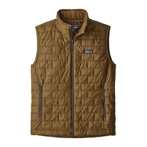 Nano Puff Vest- Brown