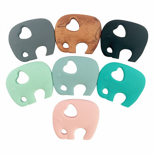 Nature Bubz Silicone Elephant Teether