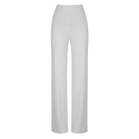 Essential Bamboo Maternity Pants - Grey Marle