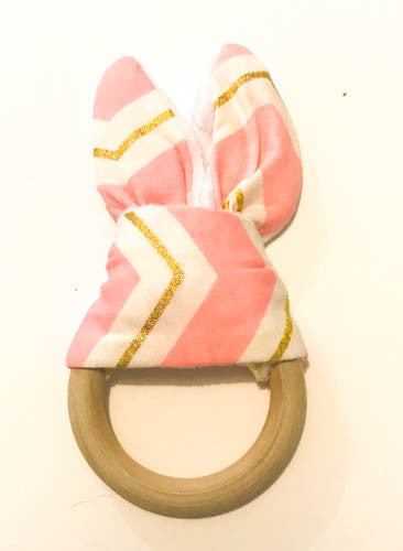wood teething ring