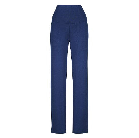 Essential Bamboo Maternity Pants - Navy