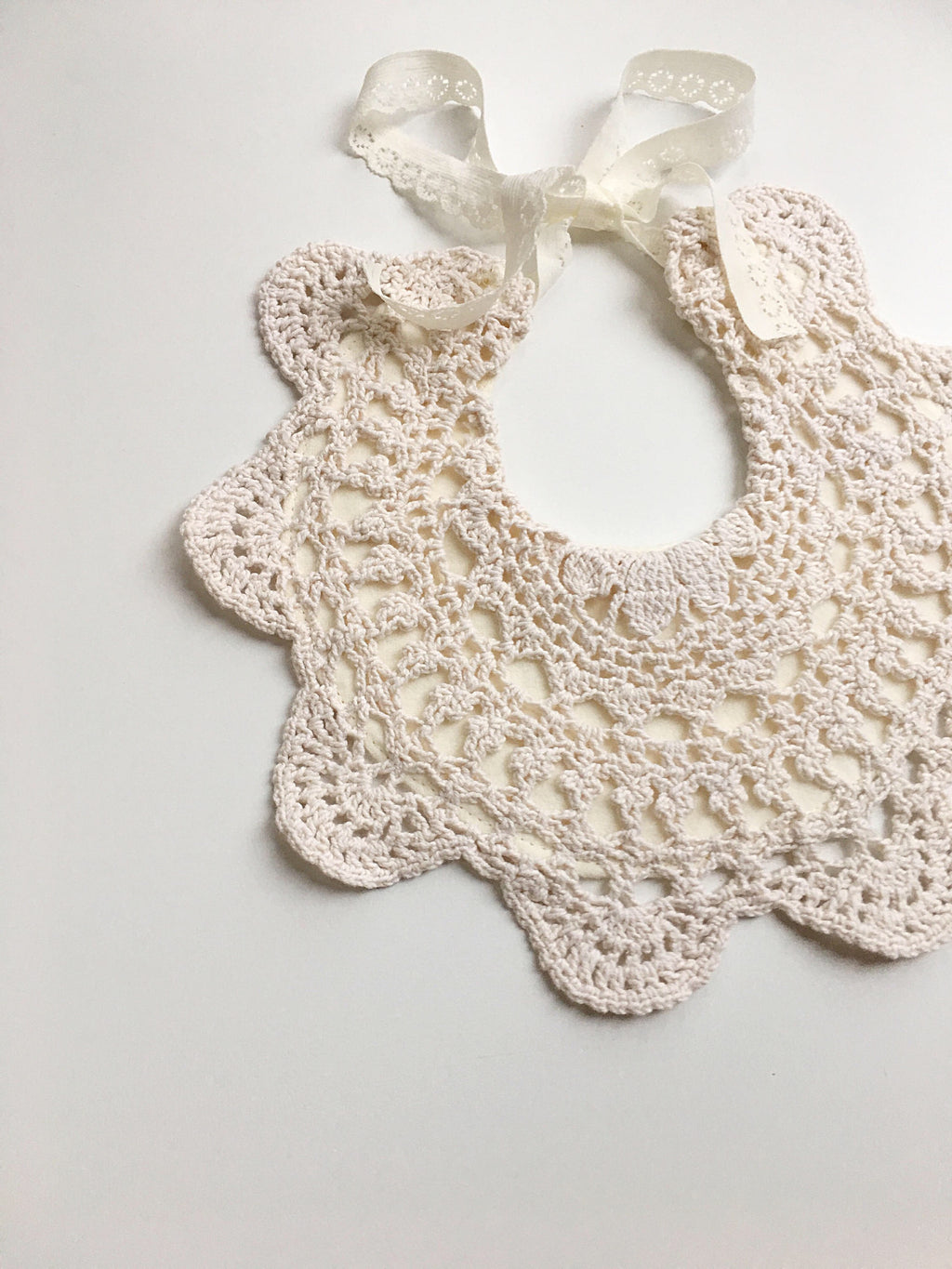 Cream Collar Bib - Ninetoesandco