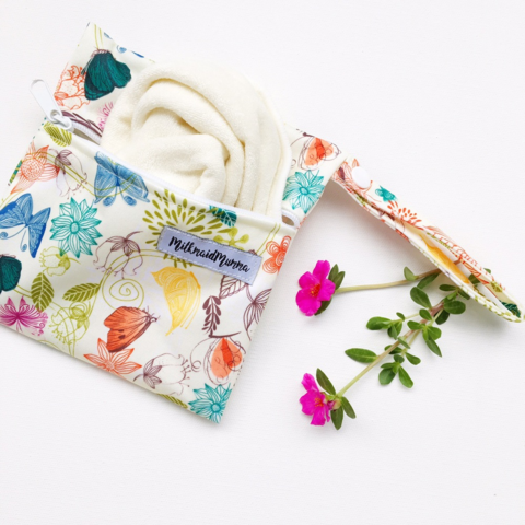 Bamboo reusable wipes bundle (3 wipes)