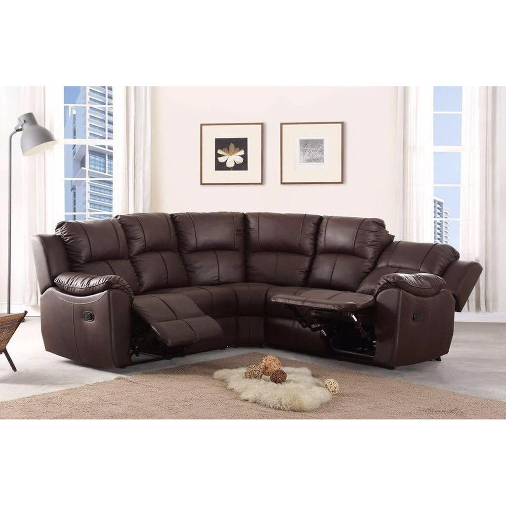 Cheap Sofas Online Harley Recliner Leather Corner Sofa Black or Brown - Cheap Sofa UK  sc 1 st  Cheap Sofas Online UK & Cheap Sofa UK | Harley Recliner Leather Corner Sofa Black or Brown ... islam-shia.org