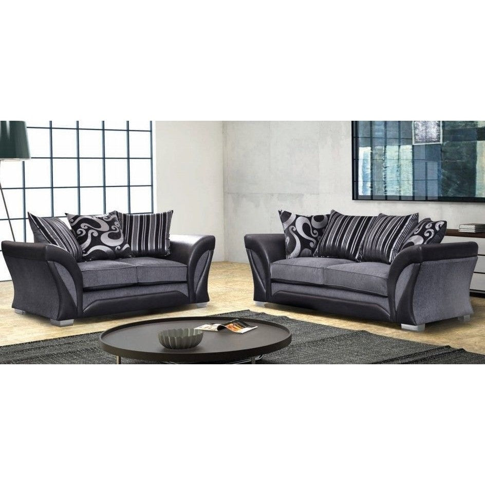 cheap sofas online shannon express 3 2 seater scatter cushion back sofa