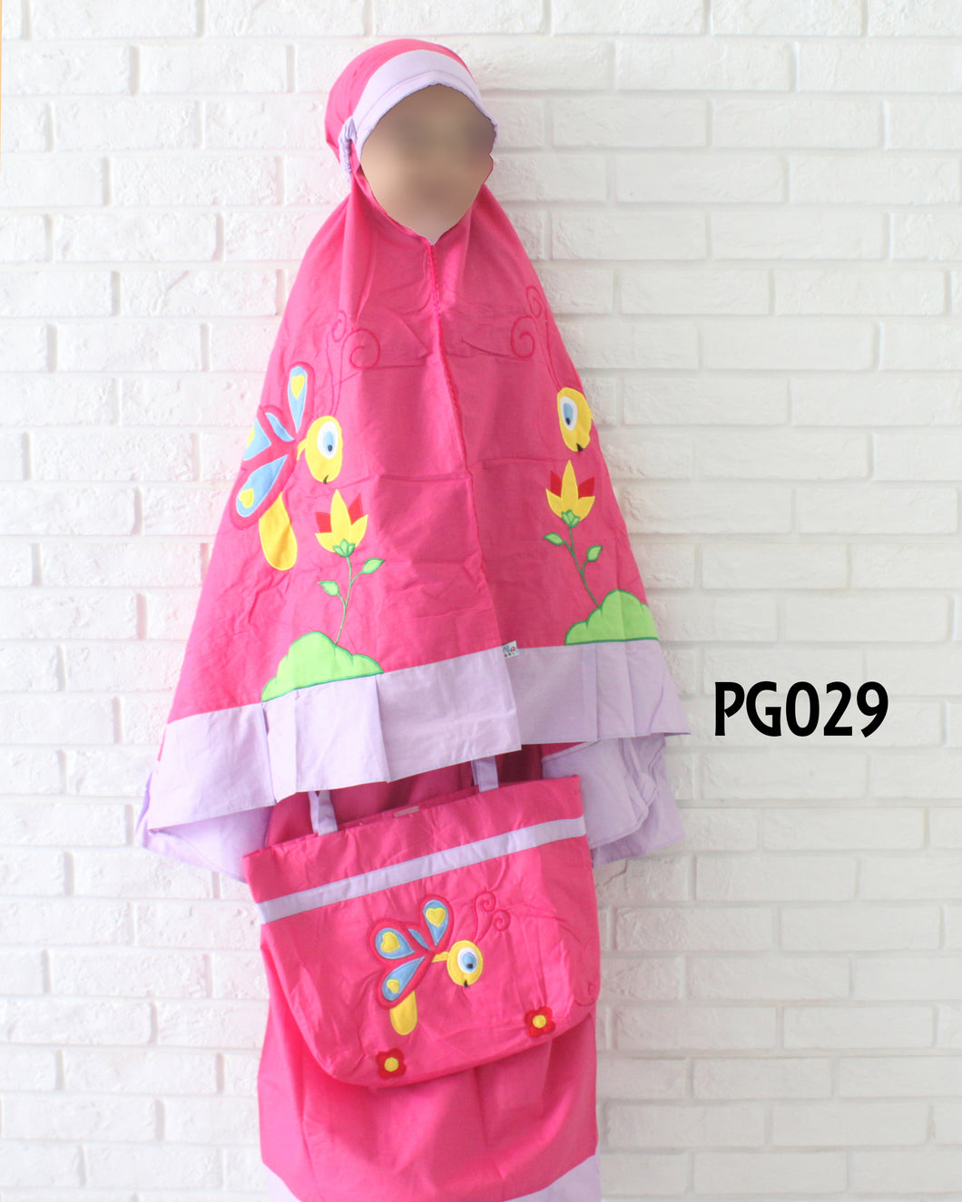 Kids Prayer Garment #029 - embroidered design (1-8y)
