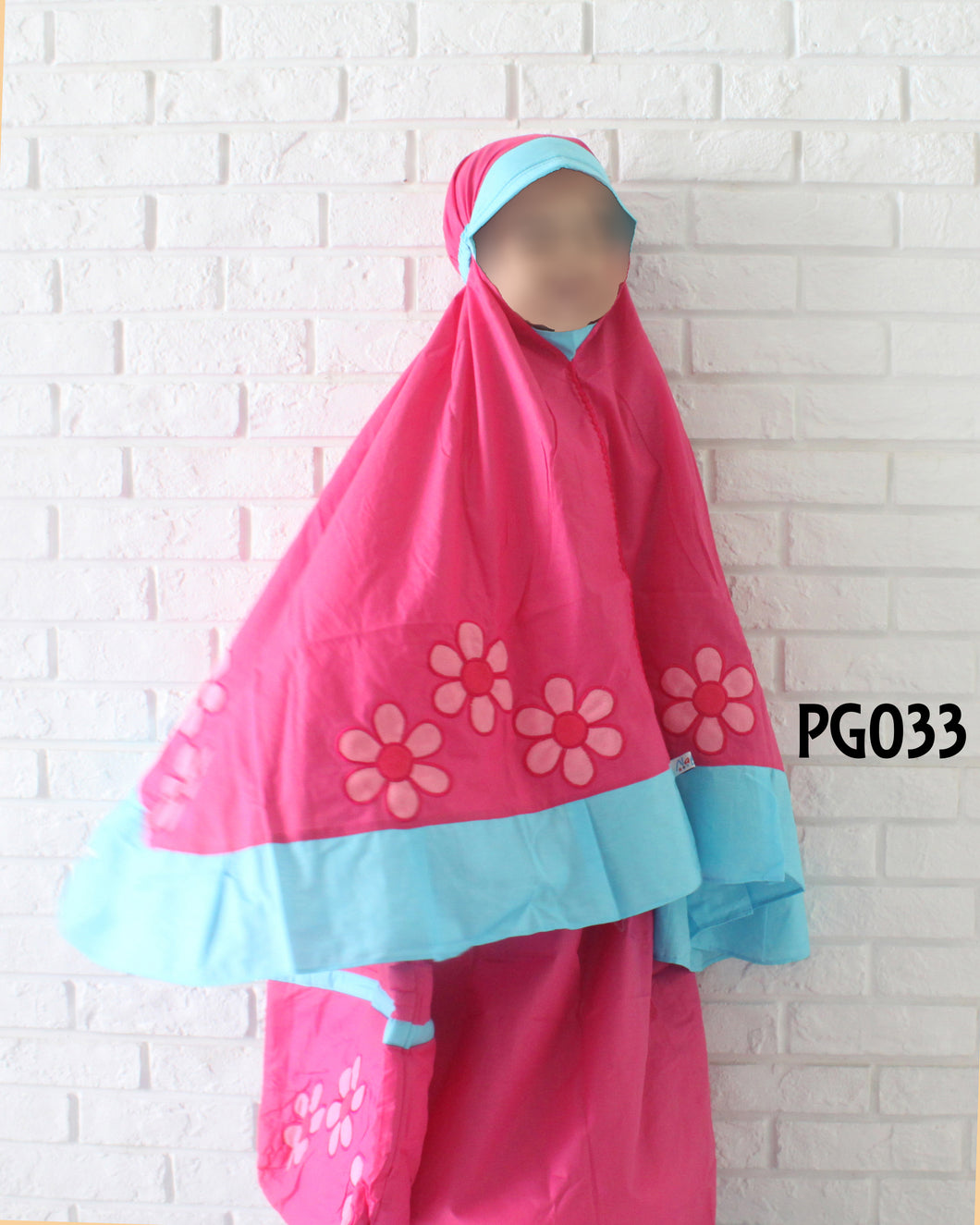 Kids Prayer Garment #033 - embroidered design (1-8y)
